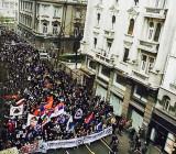 Антинатовская акция в Белграде