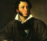 Василий Тропинин — «Портрет А.С.Пушкина». 1827 г.