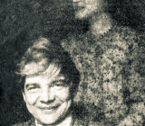 Венедикт Ерофеев и Ольга Седакова, 1975 год. Фото А. Лазаревича