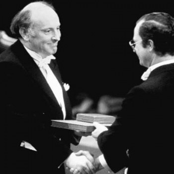 Вручение Нобелевской премии Иосифу Бродскому