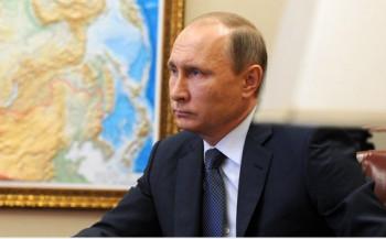 Президент РФ В.Путин. Фото: kremlin