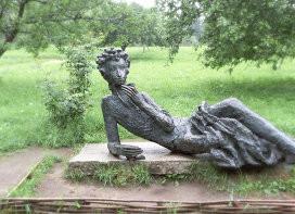 В мемориальном музее-заповеднике А. С. Пушкина «Михайловское»