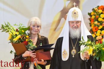 Во время вручения Патриаршей премии по литературе