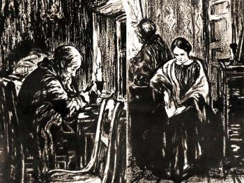 Иллюстрация к роману Достоевского «Бедные люди»