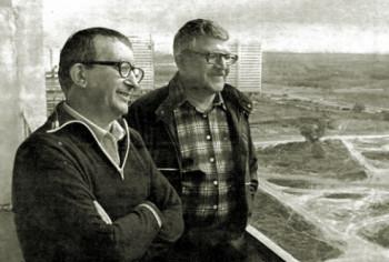 Братья Аркадий и Борис Стругацкие