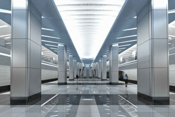 Станция метро «Деловой центр»