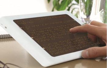 Электронная книга со шрифтом Брайля