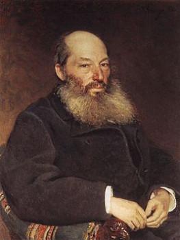Афанасий Фет, портрет работы Репина