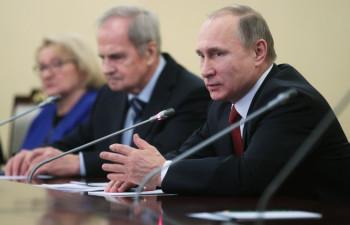 Владимир Путин. Фото: Михаил Метцель/ТАСС