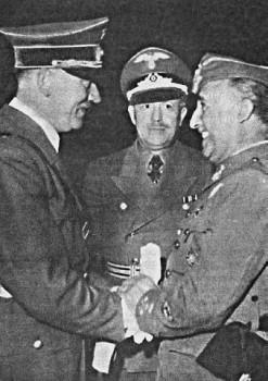 Встреча Франко и Гитлера на испано-французской границе, 1940 г.