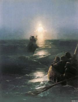 Иван Айвазовский. Хождение по водам