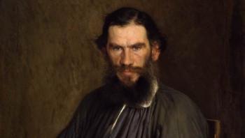Портрет Льва Толстого художника Ивана Крамского