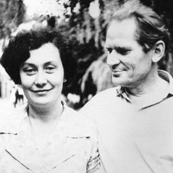 Лилия Карась-Чичибабина и Борис Чичибабин