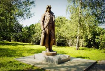Памятник Есенину в Константиново