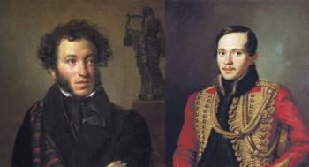 Александр Пушкин, Михаил Лермонтов