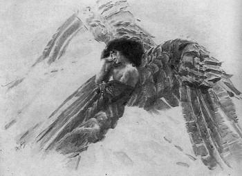 Михаил Врубель. Демон летящий