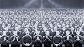 Иллюстрация к роману Хаксли «О дивный новый мир»