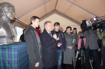 В Шотландии открыли памятник Михаилу Юрьевичу Лермонтову
