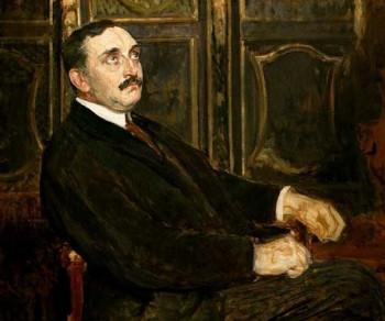 Поль Клодель. Портрет кисти Ж. Э. Бланша, 1919 г.