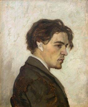 Портрет Антона Чехова, выполненный его братом Николаем