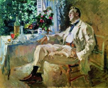 Константин Коровин. Портрет Ф.И.Шаляпина. 1911