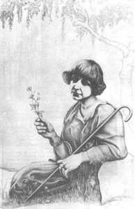 Портрет М. Цветаевой работы К. Родзевича, 1960-е гг.jpg
