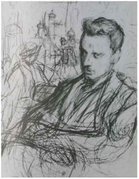 Портрет Рильке работы Леонида Пастернака