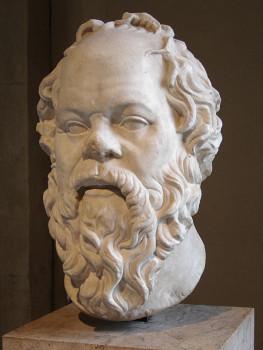 Портрет Сократа работы Лисиппа, хранящийся в Лувре