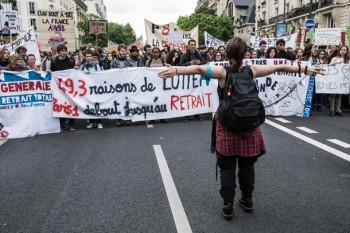 Протесты против трудовой реформы