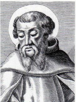 Сщмч. Ириней Лионский на гравюре Нового времени