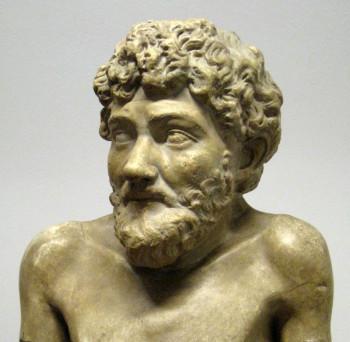 Скульптурный портрет Эзопа