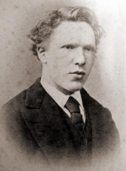 Винсент Ван Гог. Фотография в 19-ти летнем возрасте. 1873 г.