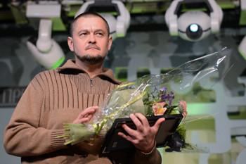Владимир Рафеенко на церемонии вручения наград «Русская Премия»