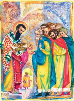Хлеб святого Василия (Инна Сапега)