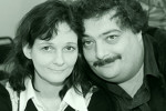 Дмитрий Быков с женой Ириной