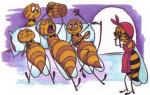 Пчела и трутни