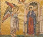 Благовещение Богородице. Мозаика храма Санта-Мария-Мадджоре, 1295 год