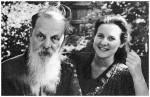 П. Бажов с дочерью А. Бажовой