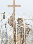 1 ноября 2016 года. Памятник Князю Владимиру накануне открытия