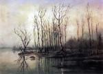 Алексей Саврасов. Ранняя весна. Половодье, 1868 г.