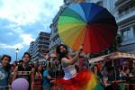 Гей-парад в Салониках, Греция, 2014 г.