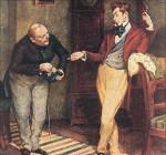 Иллюстрация к комедии Гоголя «Ревизор»