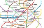 Литературная карта метро