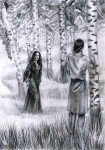 Иллюстрация к «Повести о Берене и Лютиэн»