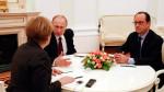 Меркель, Путин, Олланд