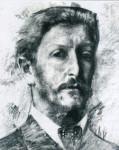 Михаил Александрович Врубель. Автопортрет (1904)