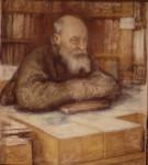 Н. Фёдоров. Портрет работы Л. Пастернака