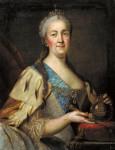 Портрет Екатерины II. 1770-е. И.С. Саблуков, Ниж. Новгород