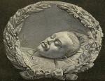 Портрет Лермонтова в гробу 15 июля 1841 года