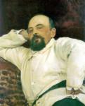 Портрет Савы Мамонтова. Илья Репин. 1880